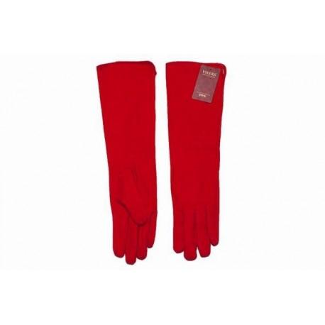 Rękawiczki damskie angora grube długie