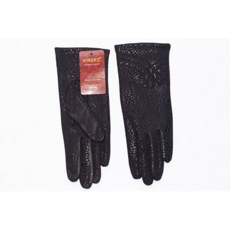 Women's gloves panther pattern