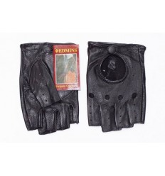 Car leather gloves short