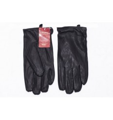 Men's leather gloves eco - black piwi