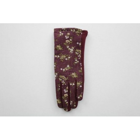 Women's material gloves F34