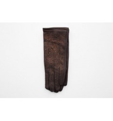 Women's material gloves F33