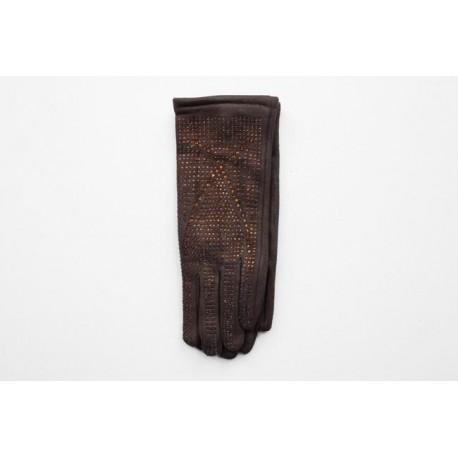 Women's material gloves F33