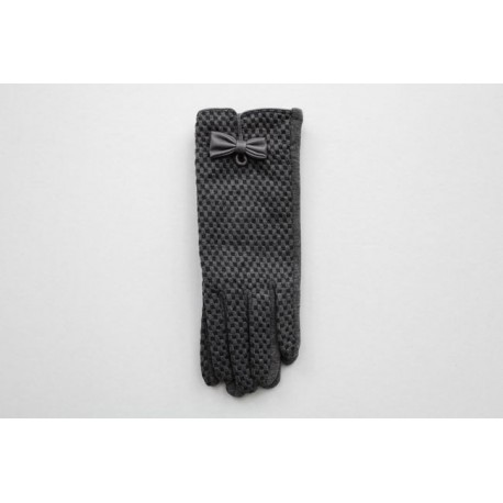Women's material gloves  F23