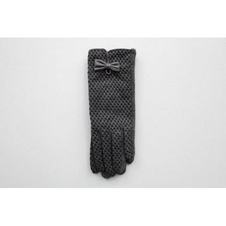Rękawiczki damskie materiałowe F23