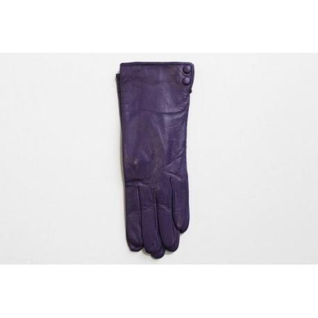 Rękawiczki damskie skórzane grube