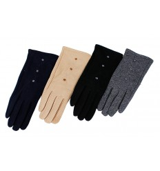 Rękawiczki damskie bawełniane smartfon